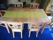 Esstisch 160 200x90cm 6 Stühle