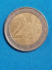 2 Euro Münze Griechenland Fehlprägung