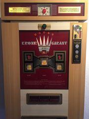 Alter Geldspielautomat Bj1970 auf Euro