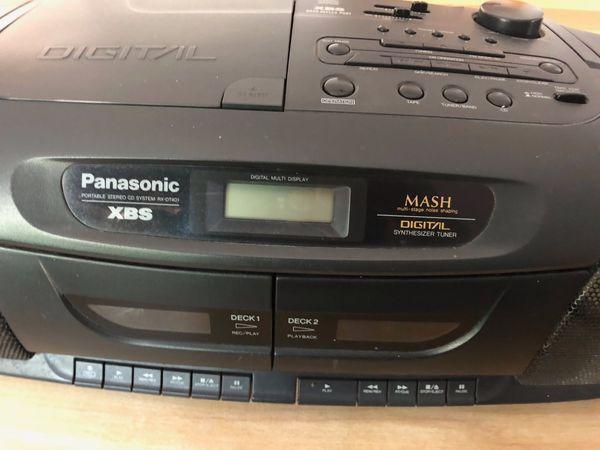 Ghettoblaster Panasonic XBS RX-DT401