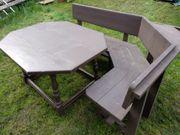 Gartentisch - Eckbank mit Tisch in