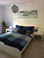 Ikea Bett Malm mit 2