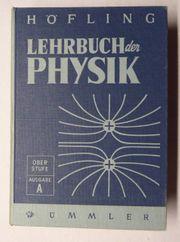 3 alte Lehrbücher für Physik
