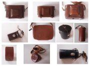 10 schöne alte Vintage Kamerataschen