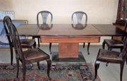 Tisch Ausziehtisch Antik Tafel