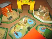 Handgefertigter Zoo Spielzoo aus den