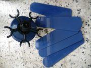 Deckenventilator blau