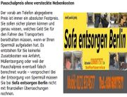 Sofa entsorgen Berlin Express-BSR www