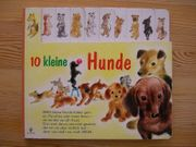 Altes Kinderbuch 10 Kleine Hunde