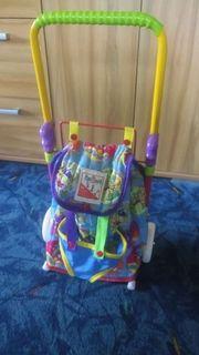 Kindertrolley und -rucksack in Einem