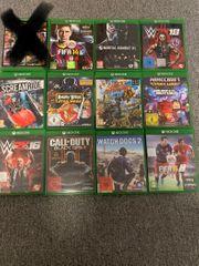 Xbox one spiele 12 Stück