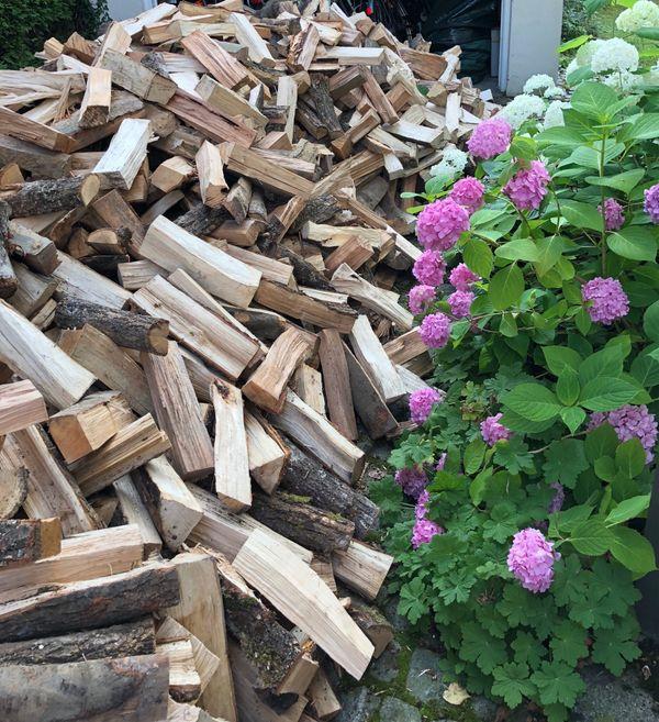 Brennholz kammergetrocknet