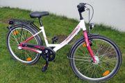 Mädchenfahrrad Kinderfahrrad Fahrrad 24 Zoll
