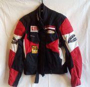 FLM Damen Motorad-Jacke -Hose -Handschuhe