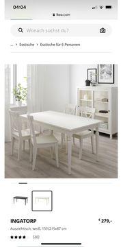 IKEA Ausziehtisch weiß