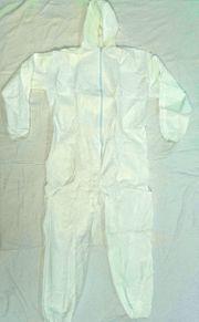 4 Stück Einweg Schutzanzug Maleranzug