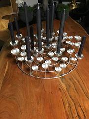 Kerzenständer Metall aber leicht