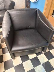 Leder Sessel Loungesessel