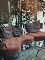 Designer Rattan Couch
