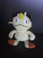 Stoff- Kuscheltier Pokemon Meowth -Sammlerstücke-