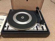 Plattenspieler Dual 1214 Schallplattenspieler