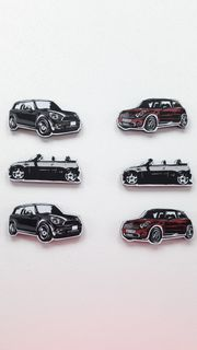 BMW Mini Cooper Fanartikel Kühlschrankmagnet