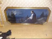 Gemälde Jesus auf dem Ölberg