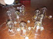 Weihnachts Glas Glocken Deko