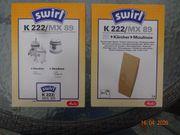 Staubsaugerbeutel K 222 MX 89