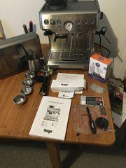 Sage Barista Express Espressomaschine SES875BSS2EEU1A