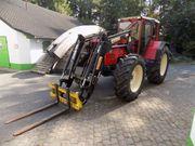 Traktor Same Laser 130 Frontlader