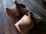 Tolles Paar Steigbügel Holz aus