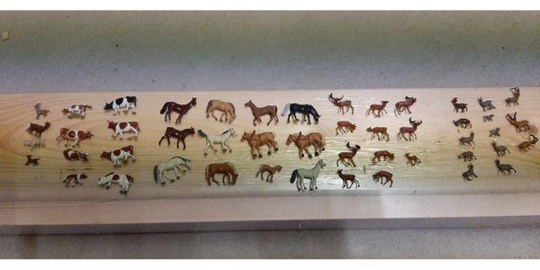 Modellbau Tiere