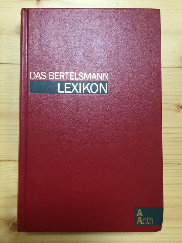 Bertelsmann Lexikon Band 1 bis