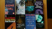 43 spannende Taschenbücher - Thriller Krimi