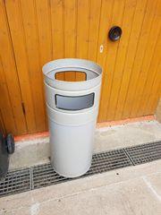 Abfallsammler Kombiascher Standascher Mülltonne Ascher