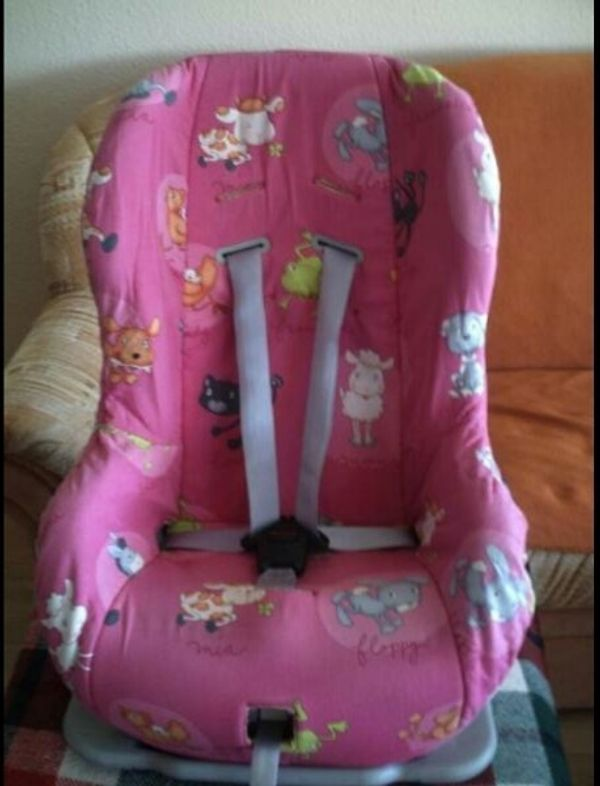 Römer King Kinder Autositz rosa