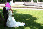 Hochzeitskleid Brautkleid Ivory weiß