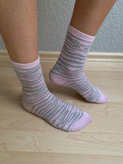 meine extrem duften rosa Socken