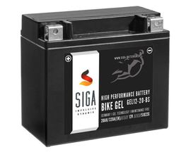 Motorrad-, Roller-Teile - SIGA Bike Gel Motorrad Batterie