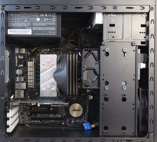Professionelle CAD Workstation PC Intel