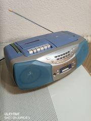 Radio Sony mit Kassetten- und