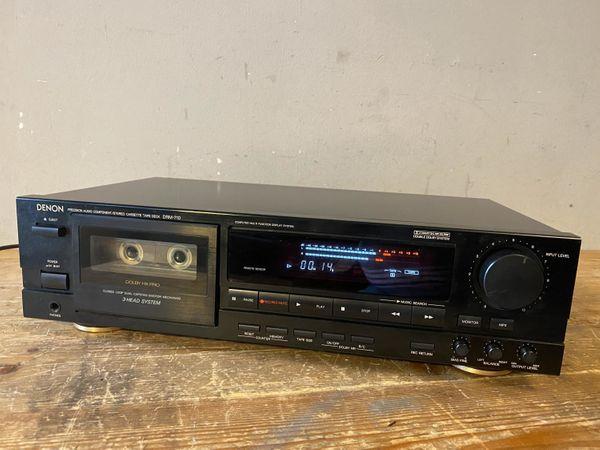 Denon DRM-710 Tapedeck Kassettendeck Cassette