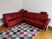 Couch wohnlandschaft Echtleder