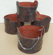 Keramik-Pflanzgefäße -Blumentöpfe