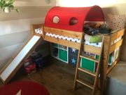 Hochwertiges Mini-Rutschen-Hochbett Kids Dreams