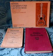 Liederbücher alt 3 Stück- Gitarrenschule