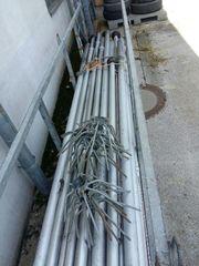 Fahnenmast 10 Stück 8 Meter