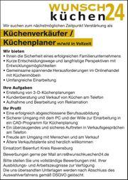 Stellenangebot Küchenplaner Baienfurt