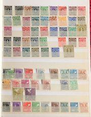 Briefmarkenalbum Deutschland gestempelt und ungestempelt